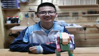 周智昊的第二个机器人 flash动画制作
