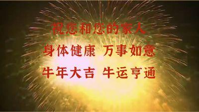 农夫山泉重庆大区恭贺新春 flash动画制作