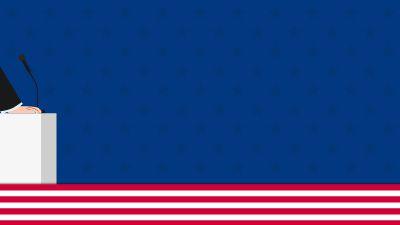 美国选举制度 flash动画制作