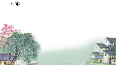 清明时节雨纷纷 flash动画制作